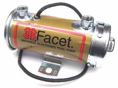 FACET 'SILVER TOP' POMPE A CARBURANT ELECTRONIQUE 12V