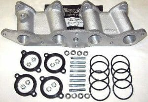 FORD PINTO 1.6/1.8/2.0 OHC ENGINE INLET MANIFOLD KIT - TWIN WEBER/DELLORTO CARBS