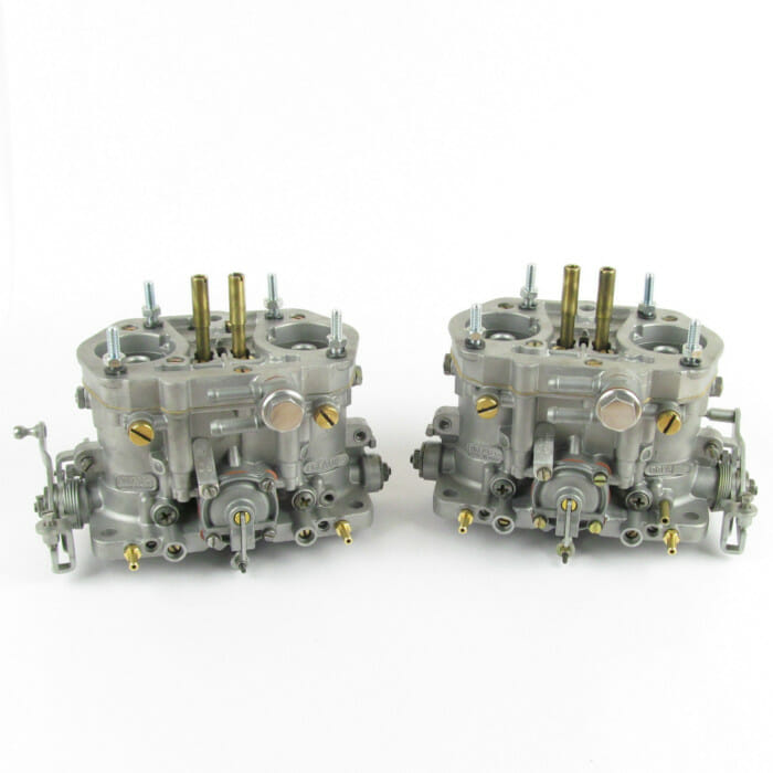 PAIR OF DELLORTO DRLA 40 TWIN CARBS/CARBURETTORS (Reconditioned)