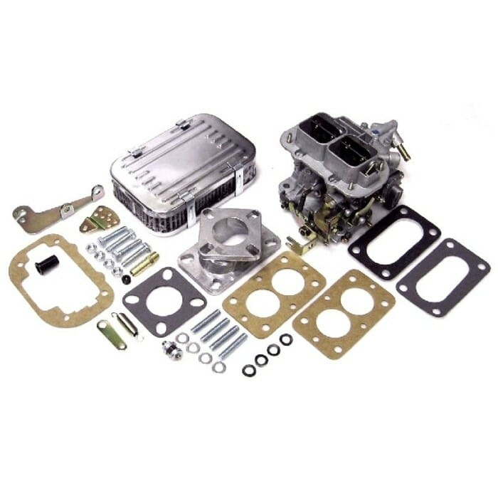 KIT CONVERSIONE CARB / CARBURETTORE WEBER DGV 32 / 36 (manometro manuale)