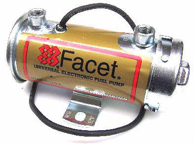 FACET 12V 'SILVER TOP' ELECTRIC FUEL PUMP (200 BHP)