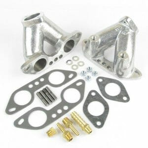 Classic aircooled VW Volkswagen T4 Engine Inlet Manifold KIT WEBER 34 ICT Carbs