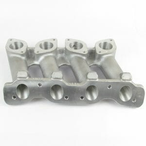 Classic FIAT/LANCIA TWIN-CAM ENGINE - INLET MANIFOLD - TWIN WEBER/DELLORTO CARBS
