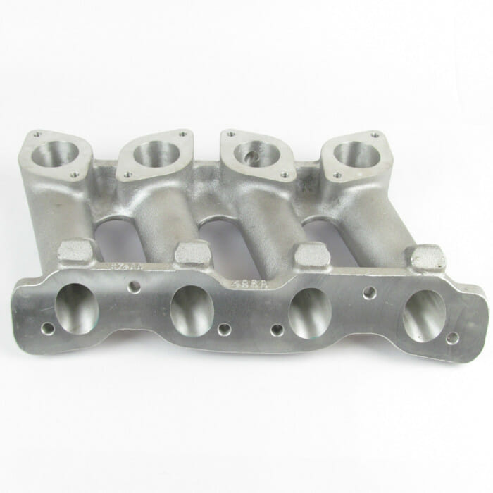 Classic FIAT / LANCIA TWIN-CAM ENGINE - INLET MANIFOLD - TWIN WEBER / DELLORTO CARBS