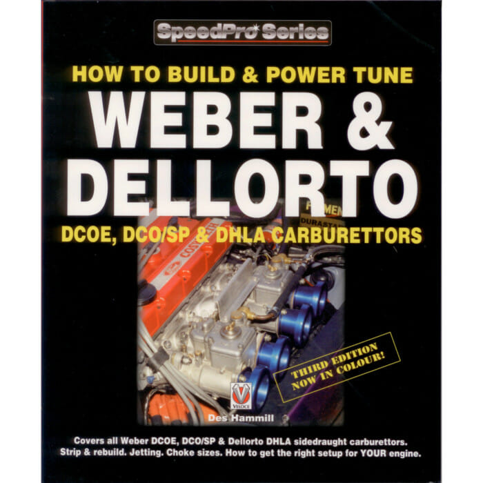 COMO CONSTRUIR E POWER-TUNE WEBER & DELLORTO DCOE / DCO / SP / DHLA TWIN CARBS BOOK