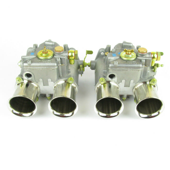 PAIR of WEBER 48DCO 2/SP TWIN CARBS - MK1/MK2 ESCORT/LOTUS/VW GOLF/ALFA ROMEO/