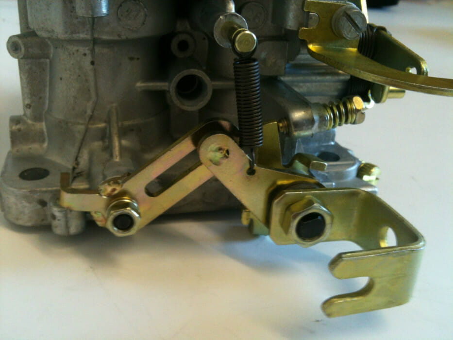 WEBER DGV / DGAV TWIN CARBURETTOR / CARB DROTTLELE SÜNNERINE LINKAGE KIT